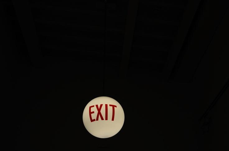 #berlin #exit #signage