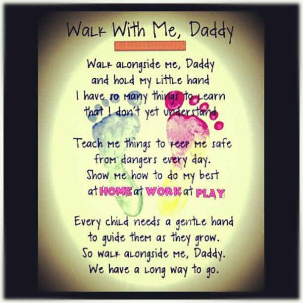 Walk with me Daddy #quote #poem #love #daddy #tumblr #greenseouldream #pinterest <3 (Taken with Instagram)
