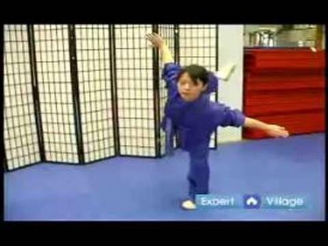 Advanced Wushu Techniques : The Wushu Butterfly Kick - YouTube