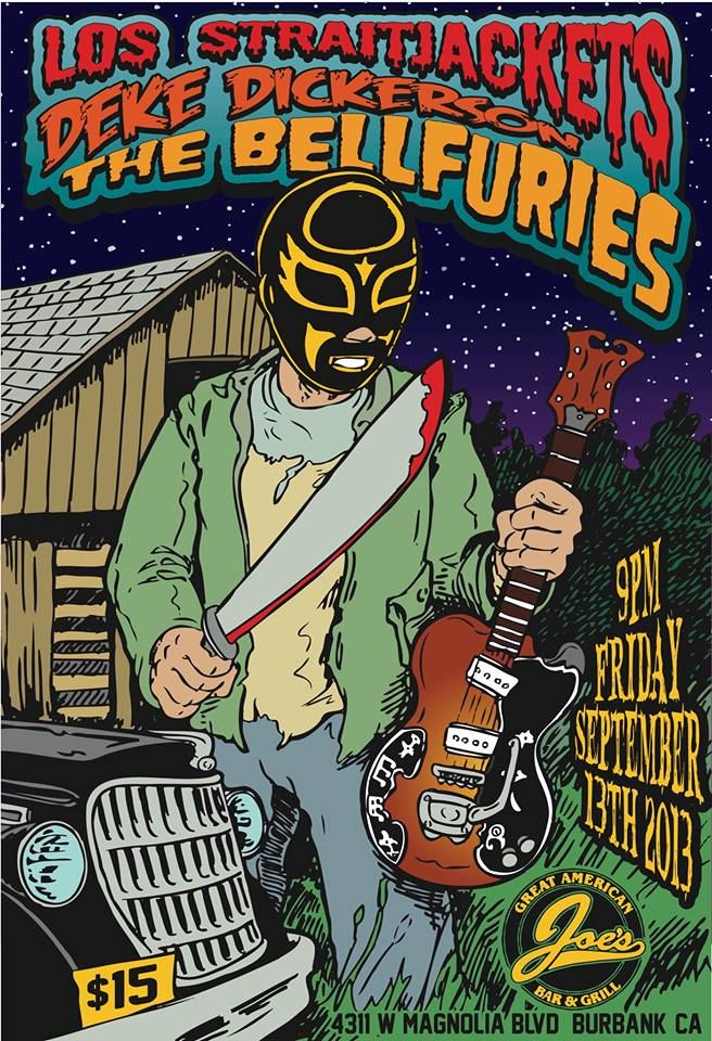 Deke Dickerson+The Bellfuries+Los Straitjackets