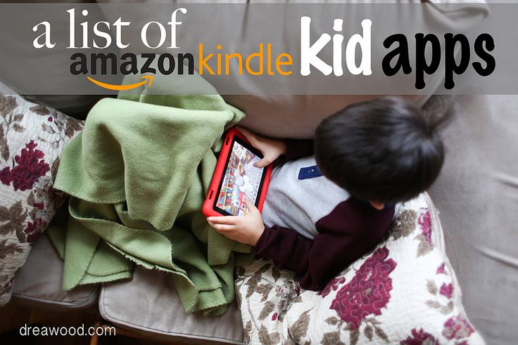 A list of Amazon Kindle Fire Apps for kids! Some educational, some function-able for parental control and many just for fun.