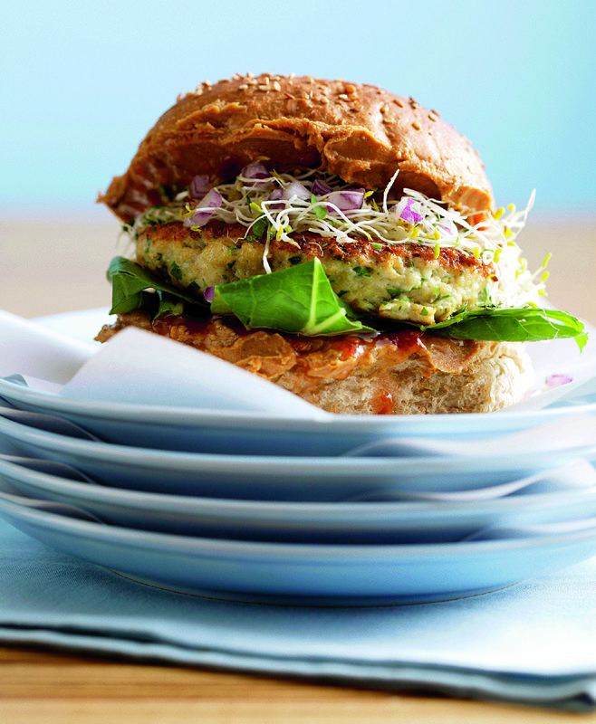 Chicken Burger, healthy and pure deliciousness from Asia!