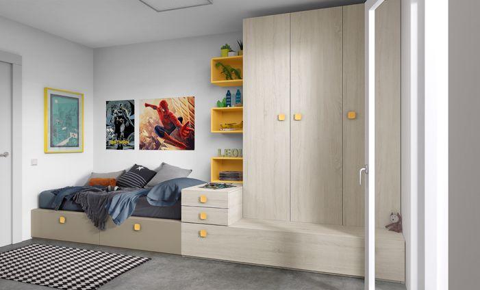 KIBUC, muebles y complementos - Juveniles Chroma ...