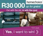 Win R30000 towards your home | Ends 30 September 2014