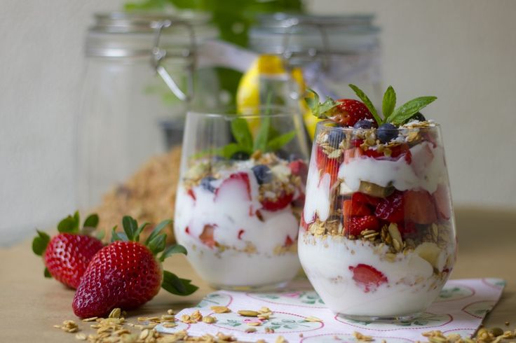 Delicious and healthy homemade muesli
