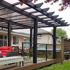 Image result for deck covers and deck pergolas
