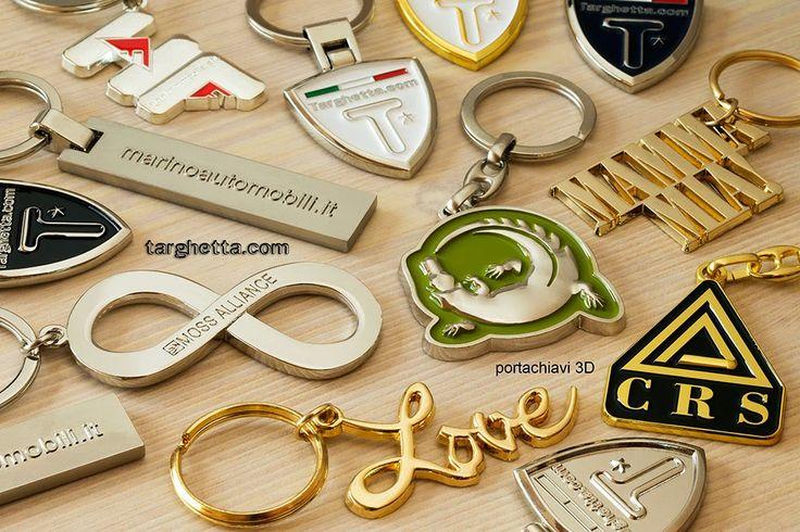 i portachiavi 3D di http://www.portachiavi.com