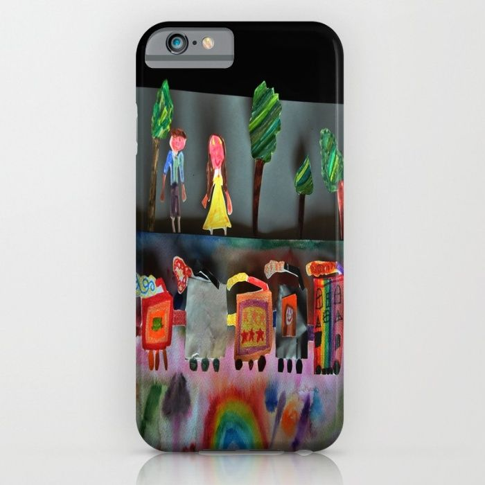 Fantasy Train iPhone & iPod Case#art #artwild#amp	#artists #prints #cases #wall #shop #cases #iphone #skins #collections #wall #tshirts #azima #laptop #shop #artists #society #festival #print #artprints #BestBuy