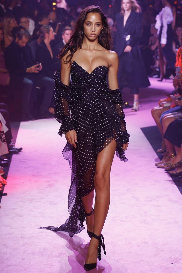 Alexandre Vauthier Fall 2017 Couture Fashion Show - Yasmin Wijnaldum
