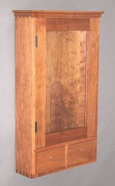 Custom Medicine Cabinet or Wall Cabinet traditional-bath-products