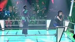 The Voice Brasil - Ellen Oléria e Maria Chstina cantam 'Canto das Três Raças'. Compartilhe! | globo.tv