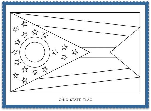 Maryland State Flag Coloring Pages Usa For Kids Coloring