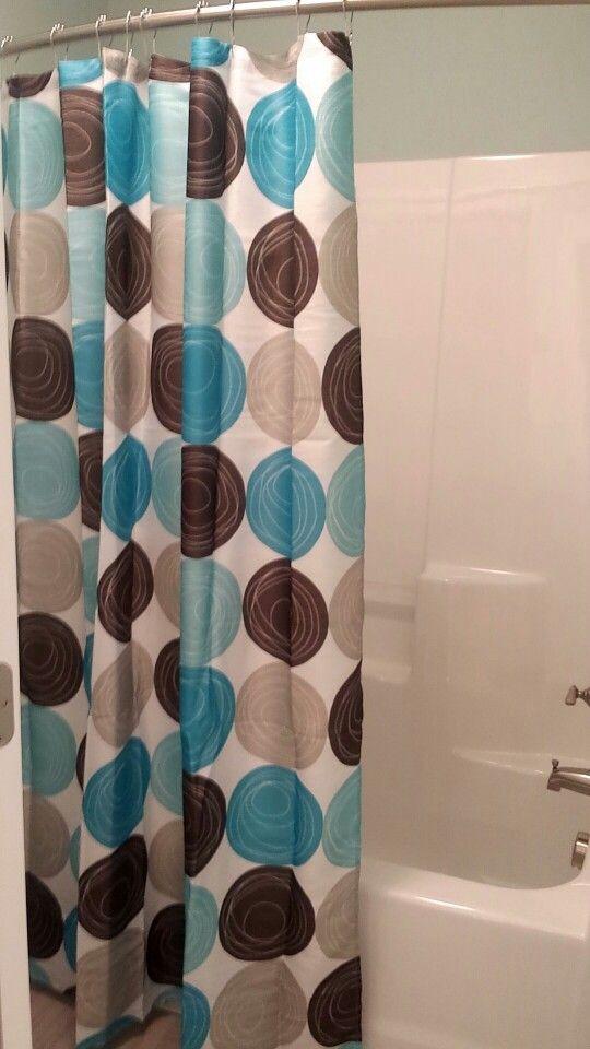 Mer Enn  Bra Ideer Om Brown Shower Curtains På Pinterest - Brown and beige shower curtain