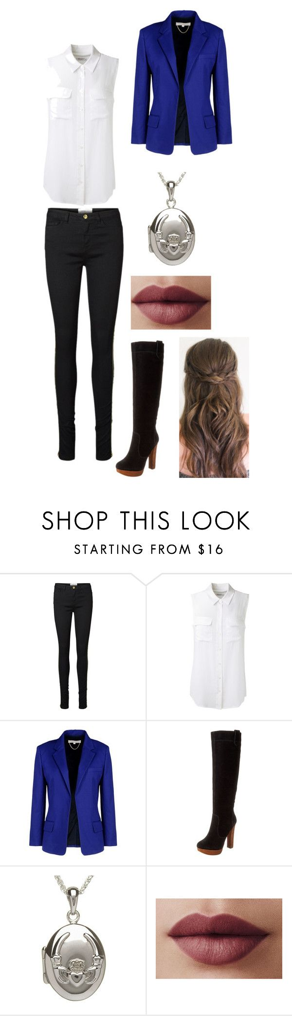 """""""Year of the Scorpions - Katharine , Home"""" by kittylnx ❤ liked on Polyvore featuring Vero Moda, Equipment, Vanessa Bruno, Boutique 9 and LORAC"""