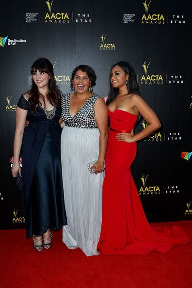 Jessica Mauboy Photos Photos - Shari Sebbens, Deborah Mailman and Jessica Mauboy arrives at the 2nd Annual AACTA Awards at The Star on January 30, 2013 in Sydney, Australia. - 2nd Annual AACTA Awards - Arrivals & Awards Room