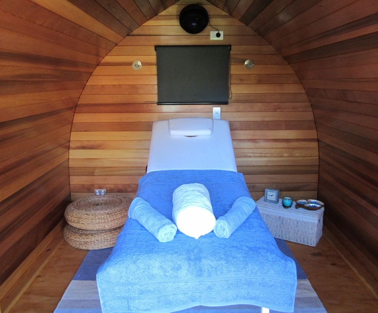 Plenty of room for a massage bed