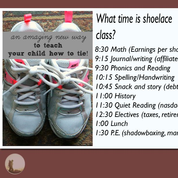 What time is Shoe Lace Class? School curriculum is outdated by a 100 hundred years.  Lce Class (vid): bit.ly/shoelaceclass #обувикружева #靴ひも #koronkibuty #lacetdechaussure #snørebånd #Schnürsenkel #skosnöre #Ципелачипке