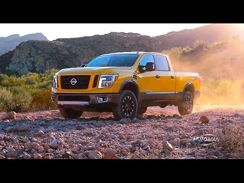 2016 Nissan Titan XD Cummins Turbo Diesel PRO 4X - the bar has been elevated for all truck manufacturers.  Let's see what follows