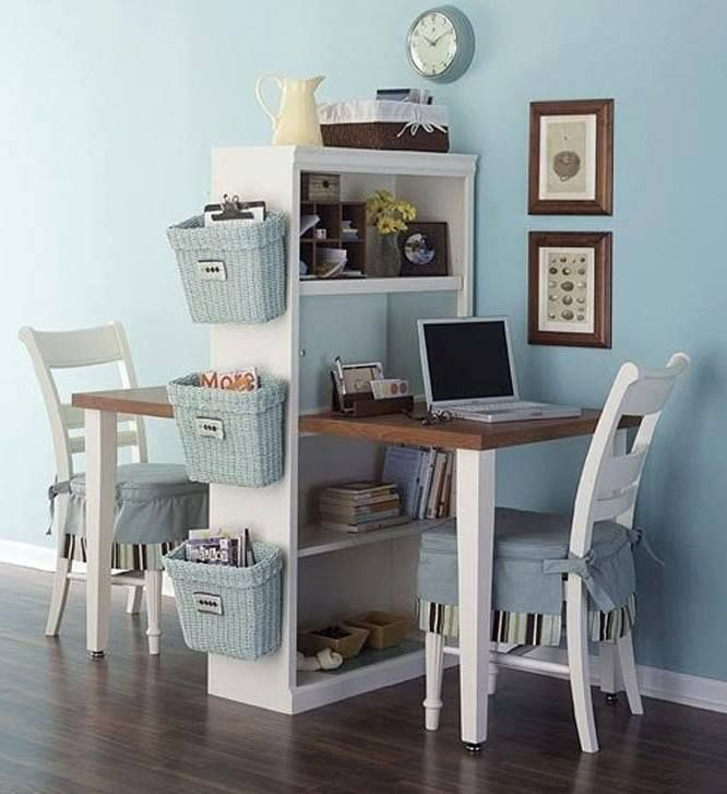 Turn an old bookcase into a homework