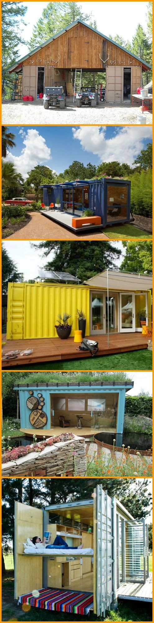 Amazing what a little imagination and effort can achieve. These converted shipping containers will show you... http://theownerbuildernetwork.co/dcw8