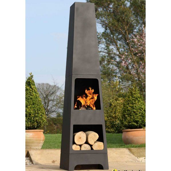 114 Best Images About Patio Chiminea On Pinterest Wood