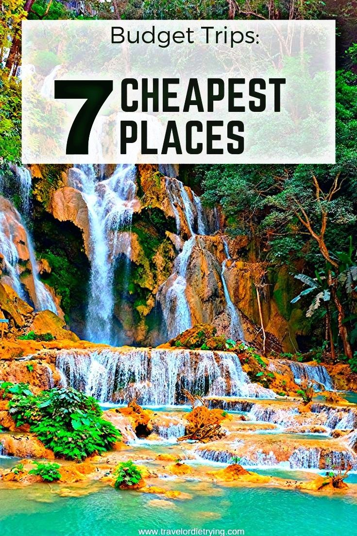 7 Cheapest Places ❤