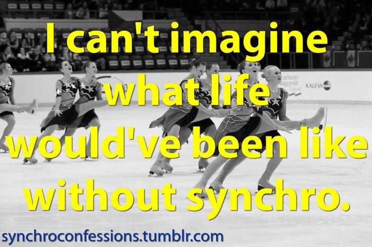 Synchronized Skating confessions: Photo