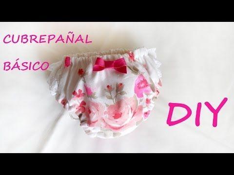 ▶ Como hacer un cubrepañal básico. Costura ropa de niños. - YouTube