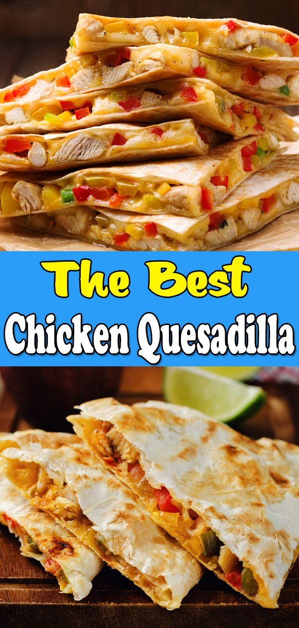Chicken Quesadillas Easy Mexican Chicken Quesadilla Recipe Quesidilla Recipes Chicken Quesadilla Recipe Recipes