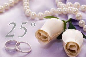 anniversario 25 anni di matrimonio