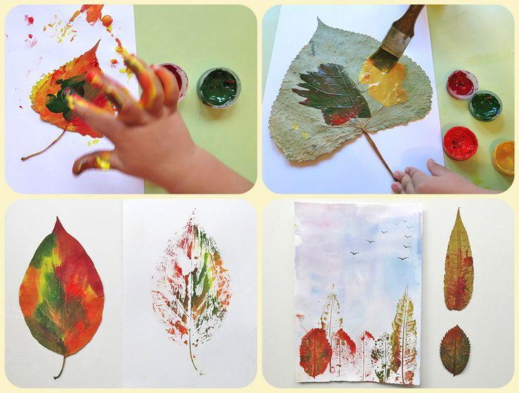 Мамина магия - Осенние поделки с детьми