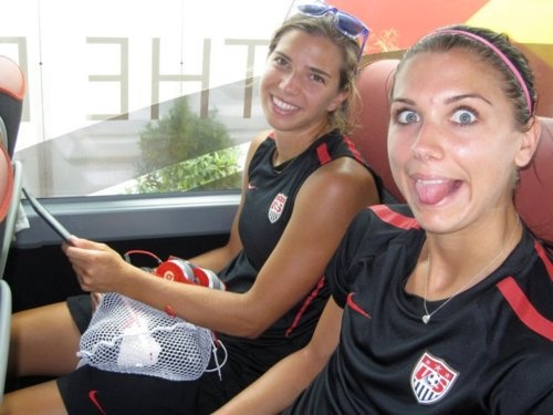 Tobin Heath And Alex Morgan Tobin heath & alex morgan
