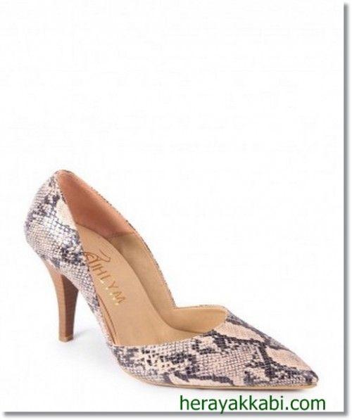 Suheym Topuklu Bayan Ayakkabı Modelleri 2014