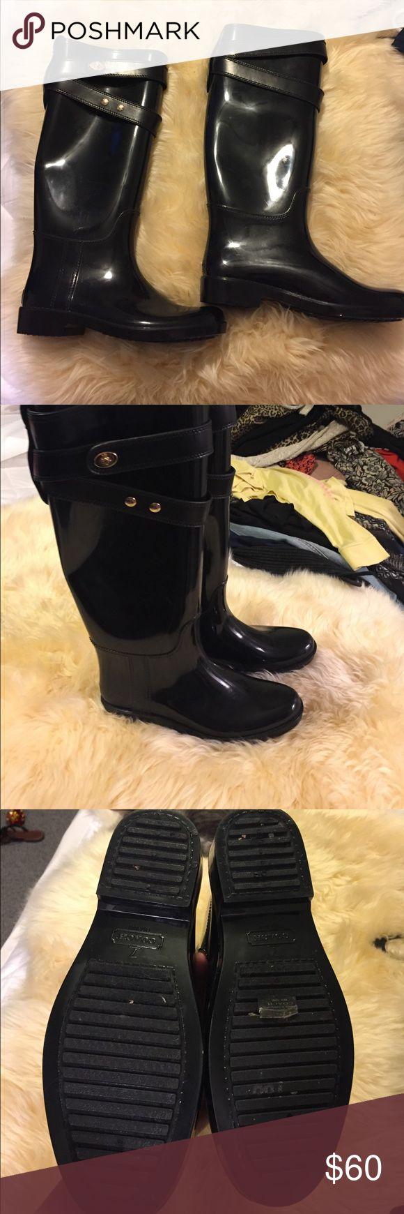 Coach rain boots Brand new Rain boots. Coach Shoes Winter & Rain Boots