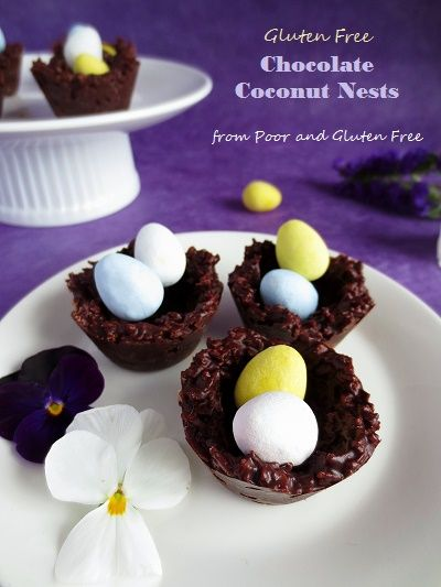 Super easy vegan and gluten free Easter treat, fun for kids!