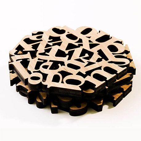 laser cut wood typography - Google Search