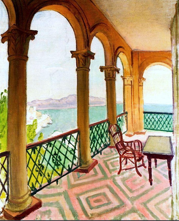 Terrace Cornice / Albert Marquet