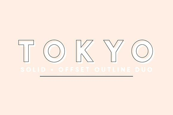 Tokyo | A Designer Font Duo by Jen Wagner Co