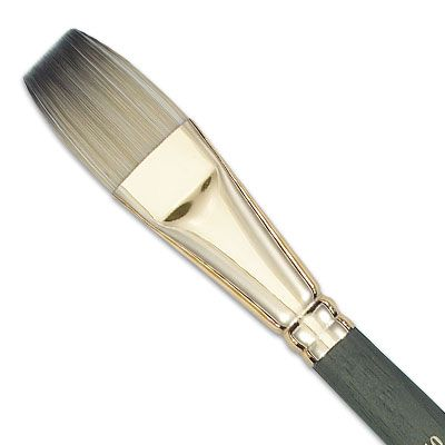 Paint Brush And Paint Image