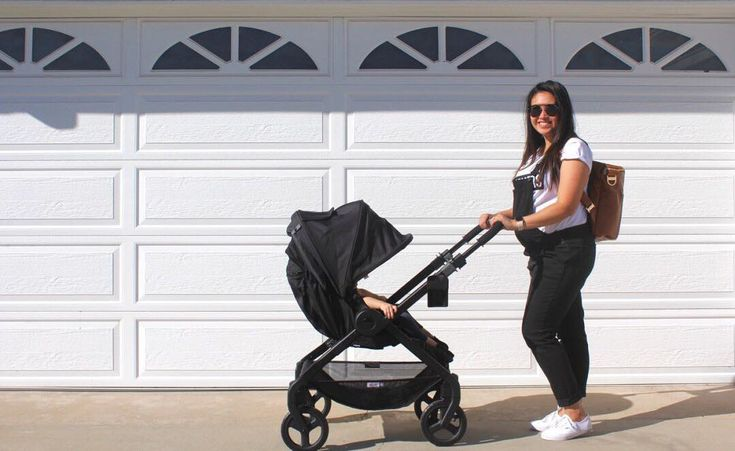 Out for a stroll with the 180 Reversible Stroller.