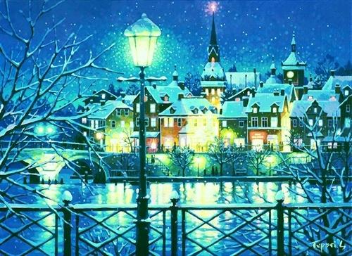 Wonderful paintings from Japanese artist Teppei Sasakura - Part 2.