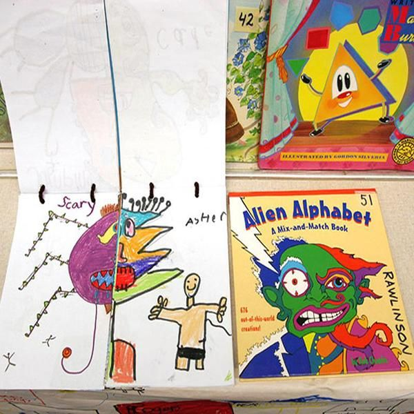 Motivation for Literacy: Student Made Books (Gr. 2-4) - Celebrating students' work is an effective way to motivate literacy, and the publishing process is important to any writing program. Creating class books can support both these objectives, and also be designed to reinforce curriculum concepts (e.g. parts of speech). Creatively structured books keeps the writing process novel and interesting, and students' interest in each other's work will motivate reading as well.