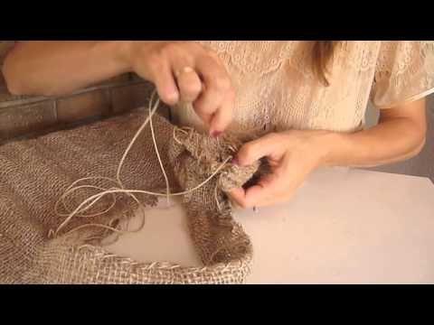 DIY Como hacer un bolso con un saco - YouTube