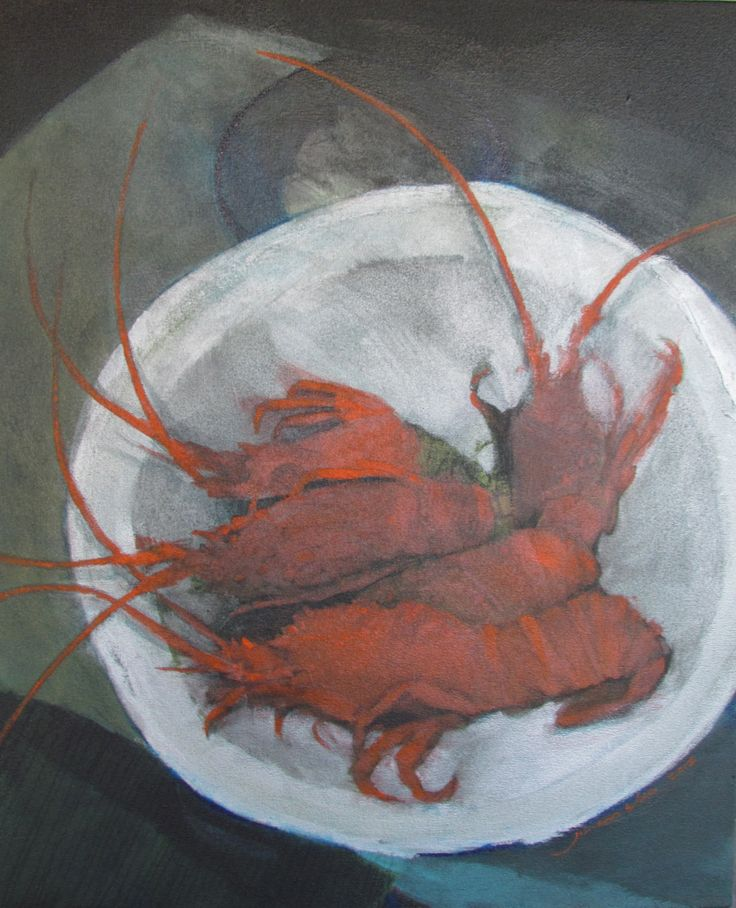 crayfish groot paternoster - by johann slee