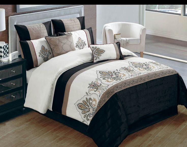 Jacob queen bedding set 8 pc find com bedroom bedding