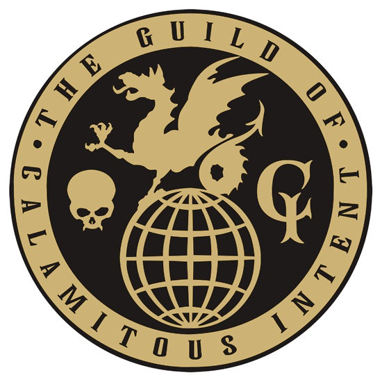 sticker: Guild of Calamitous Intent Logo (The Venture Brothers) by AdrienneOrpheus
