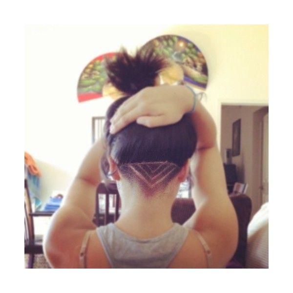 Undercut. So cool, if I had more hair I'd do this, but I need every last strand I got!