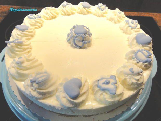 Rezept: kalte Kuchen: SAURE - SAHNE - TORTE Bild Nr. 616