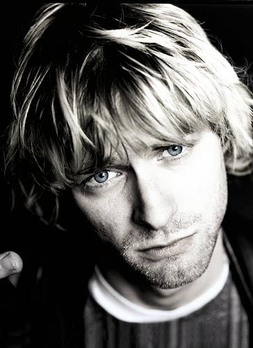 Kurt Cobain...Death Anniversary is coming up April 4th I believe...of 1994. Brilliant musician, terrible way to die.