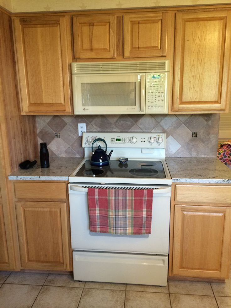 Adding A New Granite Countertop And Full Tile Backsplash Is A Great Way To  Update Any